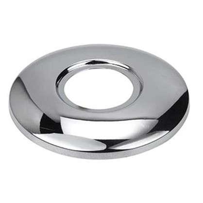 Отражатель для полотенцесушителя неглубокий 3/4 полированная нержавеющая сталь