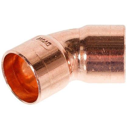 Отвод 45° Viega 18 мм внутреннее-внутреннее соединение медь