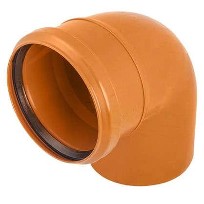 Купить Отвод наружный 87° 110 мм дешевле