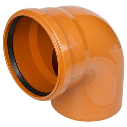 Купить Отвод наружный 87° 160 мм дешевле