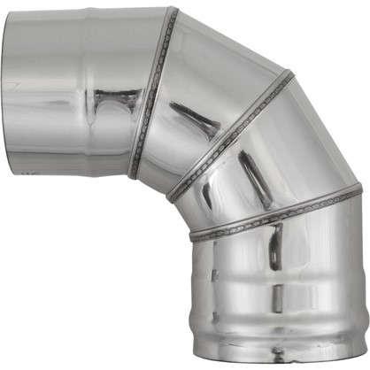 Купить Отвод нержавеющий четыре секции 115х0.5 мм 90 г дешевле