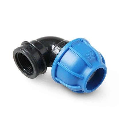 Отвод внутренняя резьба 3/4х25 мм полиэтилен