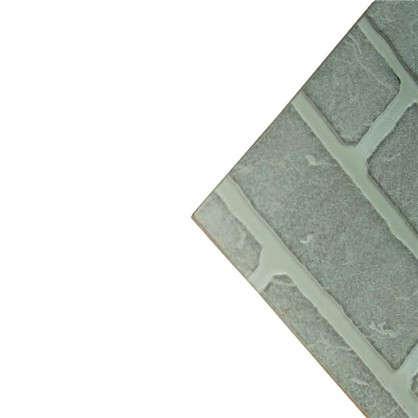 Панель Кирпич Серый 2440x1220x4 мм 2.98 м2
