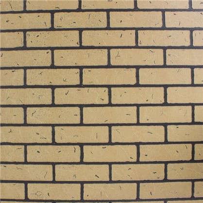 Панель Кирпич Жёлтый обожжённый 2440x1220x4 мм 2.98 м2
