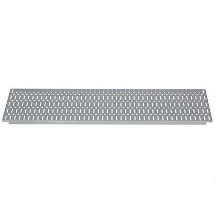 Купить Панель перфорированная 890x155 мм цвет серый дешевле