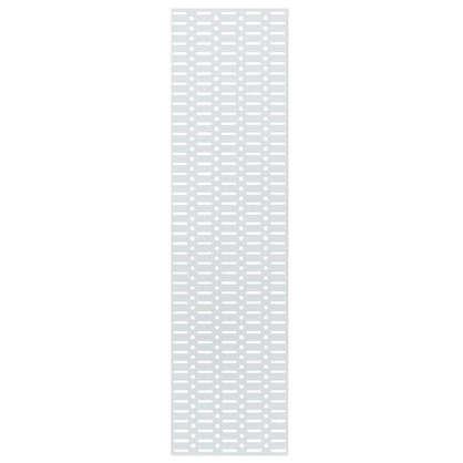 Купить Панель перфорированная Larvij 585x155 мм цвет белый дешевле