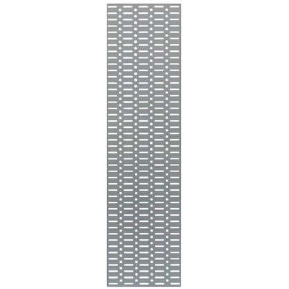 Панель перфорированная Larvij 585x155 мм цвет серый