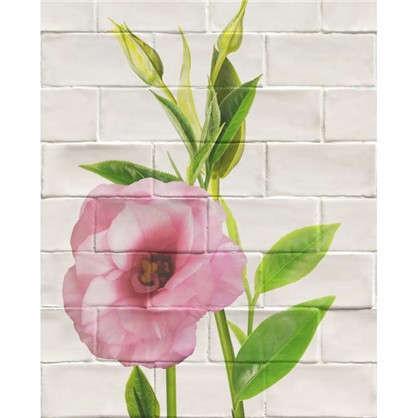 Панель ПВХ Цветы розовые малые 2700х375 мм