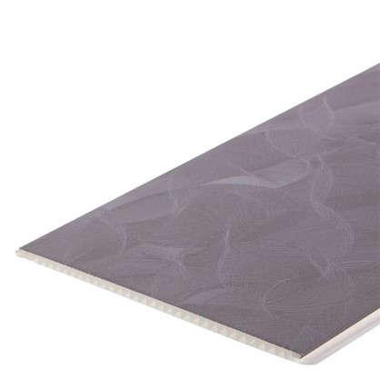 Панель ПВХ Грейс коричневый 2700х250 мм 0.675 м2