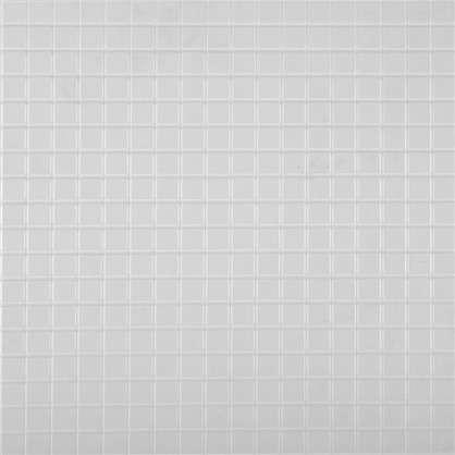Панель ПВХ Мозаика белая 960х485 мм 0.47 м2