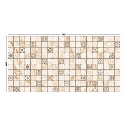 Панель ПВХ Терраццо Римини 960х485 мм 0.46 м2