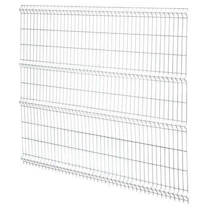 Купить Панель заборная Light 2.03х2.5 м цвет цинк дешевле