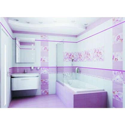 Панно Lily 60х40 см цвет розовый