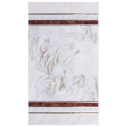 Панно настенное Pietra 69x40 см цвет коричневый