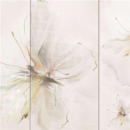 Панно Оникс Бабочка 2 25x50 см цвет салатный
