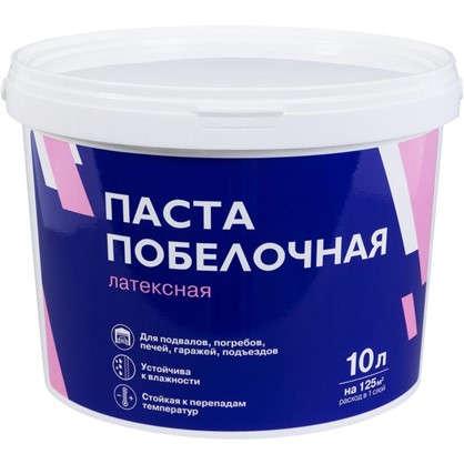 Паста побелочная латексная цвет белый 15.3 кг 10 л