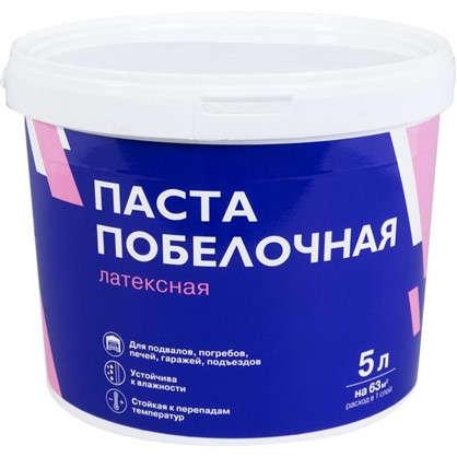 Купить Паста побелочная латексная цвет белый 7.6 кг 5 л дешевле