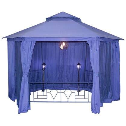Купить Павильон садовый Антрацит Нью 2x2 м антимоскитная сетка сталь дешевле
