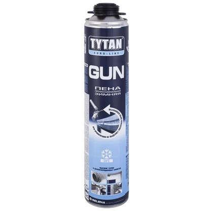 Купить Пена монтажная пистолетная Tytan Euro-Line зима профессиональная 750 мл дешевле