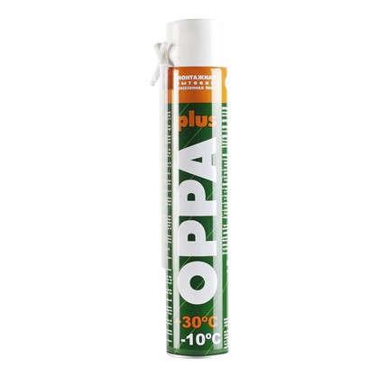 Купить Пена монтажная ручная Oppa plus всесезонная 600 мл дешевле