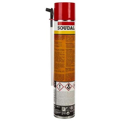 Купить Пена монтажная ручная Soudal класс B1 огнестойкая 750 мл дешевле