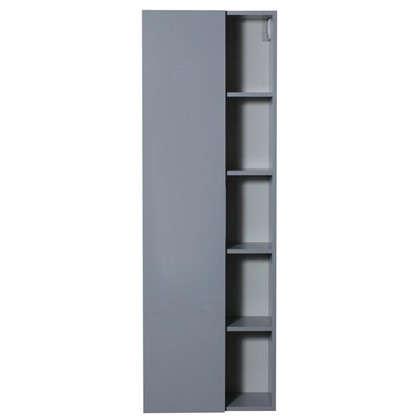 Пенал для ванной Либерти 55 см цвет серый глянец