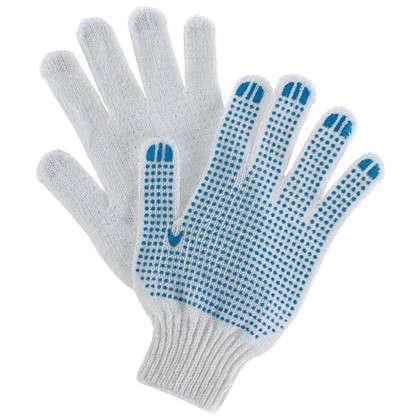 Перчатки хлопчатобумажные с ПВХ