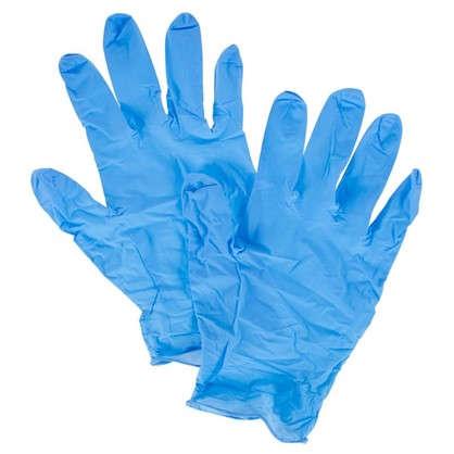 Купить Перчатки нитриловые Dexter 100 шт. дешевле