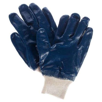 Перчатки нитриловый облив Сибртех размер M