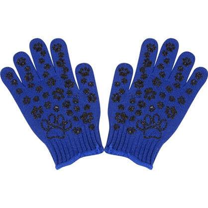 Перчатки с рисунком ПВХ размер 6