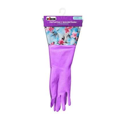 Перчатки Unibob размера М манжеты латекс
