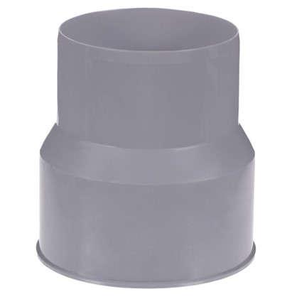 Переходник с пластика на чёрную канализацию 110/108 мм