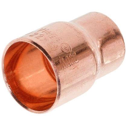 Купить Переходник Viega 22х18 мм внутреннее-внутреннее соединение медь дешевле