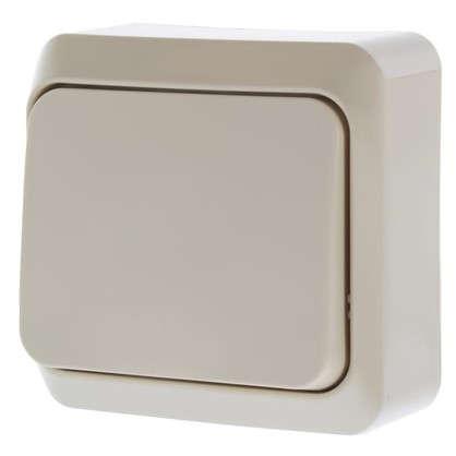 Купить Переключатель Schneider Electric Этюд 1 клавиша цвет кремовый дешевле