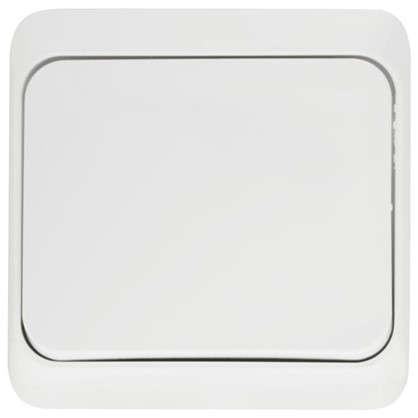 Переключатель Schneider Electric Этюд 1 клавиша цвет серый