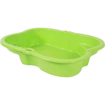 Купить Песочница детская салатовая пластиковая 96х72 см дешевле