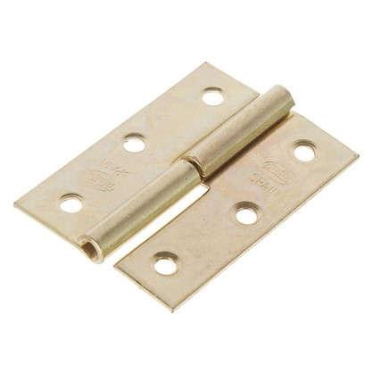 Петля карточная съемная правая Amig 540 50х35 мм сталь цвет золото