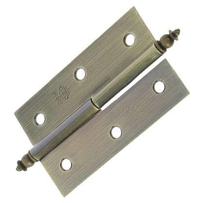Петля карточная съемная правая Amig 541 70х43 мм сталь цвет бронза