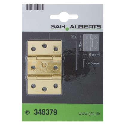 Купить Петля карточная универсальная GAH 38x38x0.75 г 2 шт. дешевле