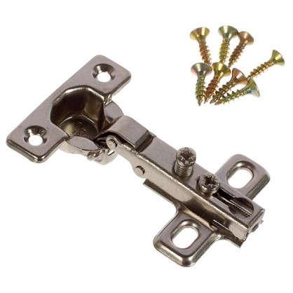Петля накладная Boyard Key-hole H401A21 15х54 мм сталь цвет сталь 2 шт.