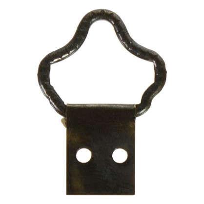 Петля-подвес корона-кольцо для картины фоторамки бронза
