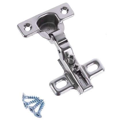 Петля полунакладная Boyard Key-hole H401В21 17х54 мм сталь цвет сталь 2 шт.