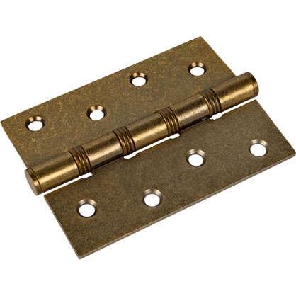 Петля универсальная 4W 100х75х2.5 мм цвет бронза