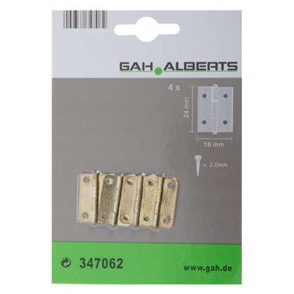 Петля универсальная GAH-Alberts 24x16.5 мм 0.5 мм 4 шт.