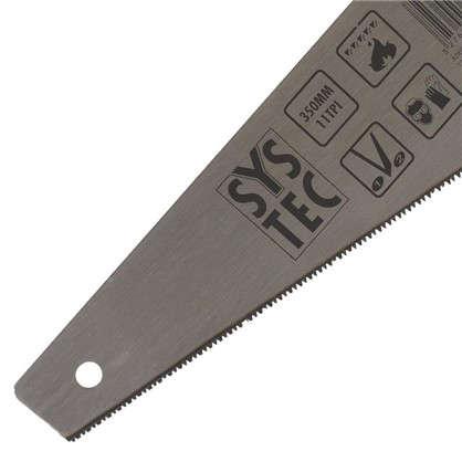 Пила по дереву SYSTEC 350 мм мелкий зуб
