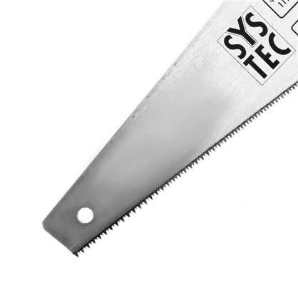 Пила по дереву SYSTEC 400 мм мелкий зуб
