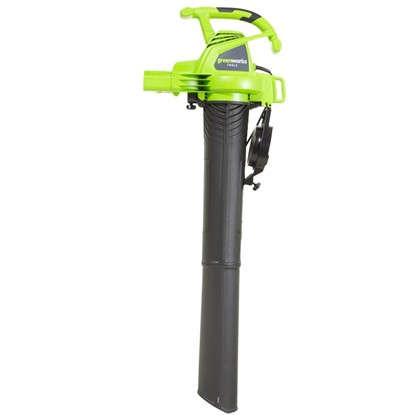 Пылесос садовый электрический Greenworks 2800 Вт
