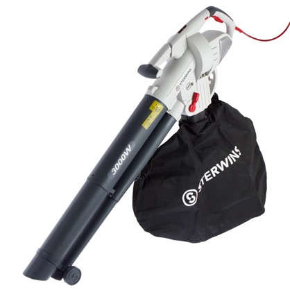 Купить Пылесос-воздуходувка садовый электрический Sterwins 3000 Вт дешевле