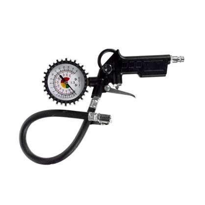 Пистолет для подкачки шин с манометром