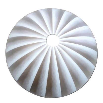 Купить Плафон для подвеса Ассоль цвет белый дешевле